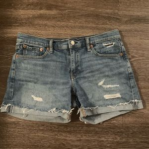 Gap jean shorts, size 28